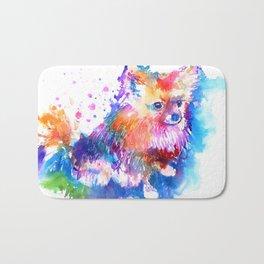 Pop Art Pomeranian Bath Mat