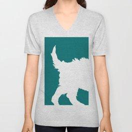 Dogs in Color - Parker Unisex V-Neck