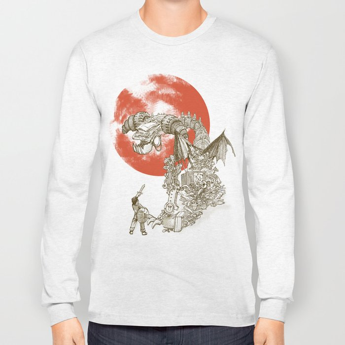 Junkyard Dragon  Long Sleeve T-shirt