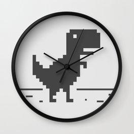 Jurassic Browser Wall Clock