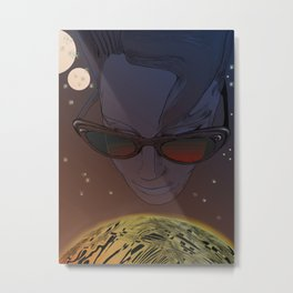 Wanda, Kisses from Planet UZU- Dawn version  Metal Print