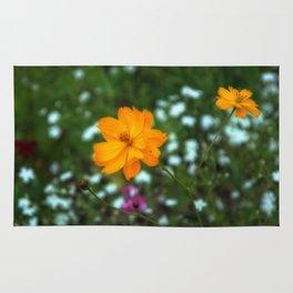 Yellow Wildflower Rug