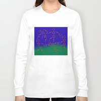 "matisse Long Sleeve T-shirts featuring ""The Dance"" after H. Matisse by Irina Chuckowree"