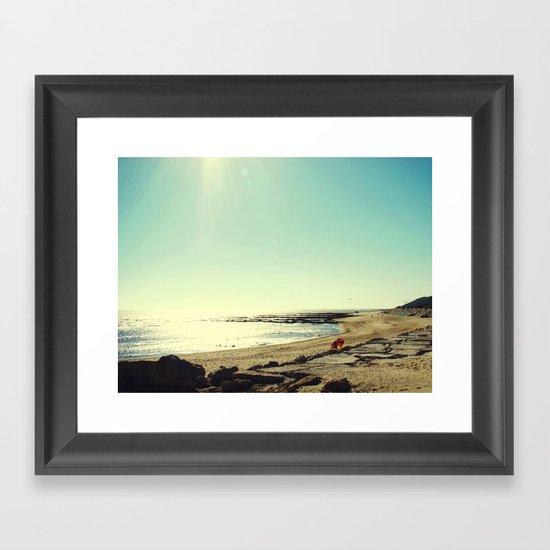 Summertime II Framed Art Print