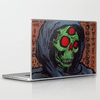 occult Laptop & iPad Skins featuring Occult Macabre by Chris Moet