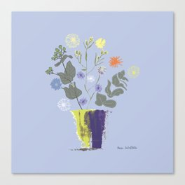Floral Bouquet with Dylan's Daisies Canvas Print