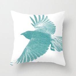 Corbeau  Throw Pillow