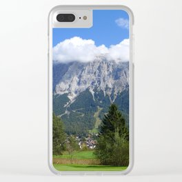 Mountains so high.. Clear iPhone Case