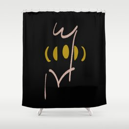 Me & The Moon Shower Curtain