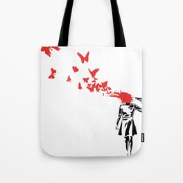Butterfly HeadShoot Tote Bag