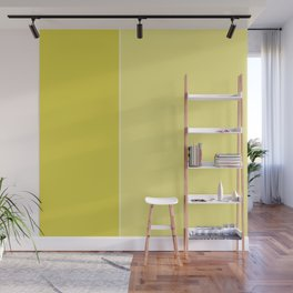 Yellow Lines Wall Mural
