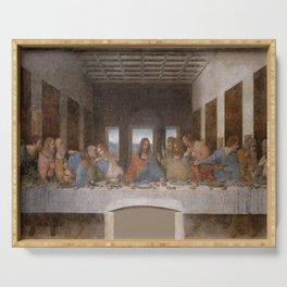 Leonardo da Vinci – Ultima cena – the last supper Serving Tray