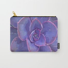Moody Blues Succulent- by Hxlxynxchxle Carry-All Pouch