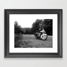 Road King Framed Art Print