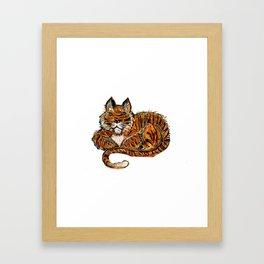 Tigconic Framed Art Print