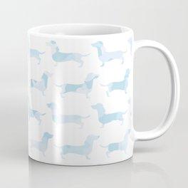 Sausage Dog Army (Blue) Coffee Mug