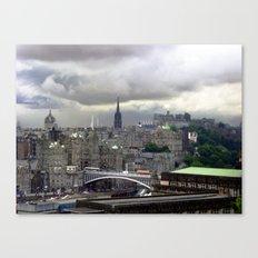 Edinburgh. (II) Canvas Print