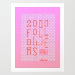 2000 Art Print