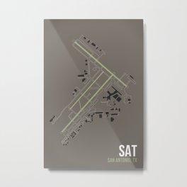 SAT Metal Print
