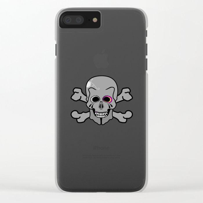 Jolly Roger Clear iPhone Case