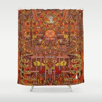 apollo Shower Curtains featuring Apollo by mattmacpherson