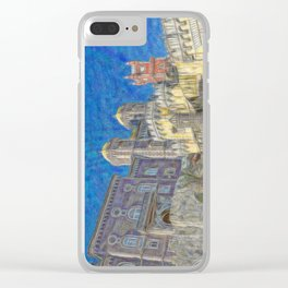 Palacio da Pena Clear iPhone Case