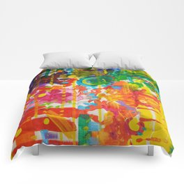 My Colour Wheel Exploded Comforters