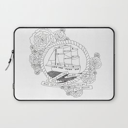 A Ship in the Harbor Laptop Sleeve