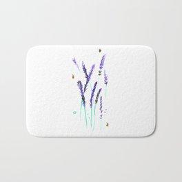 Lavender & Bees Bath Mat