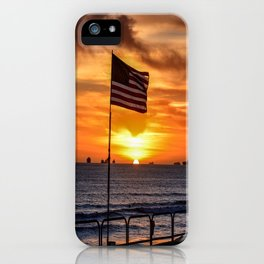 Patriot's Point (Surf City USA) iPhone Case