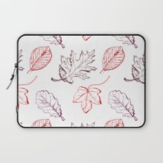 Leaves (reds) Laptop Sleeve