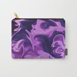 purple wobble Carry-All Pouch