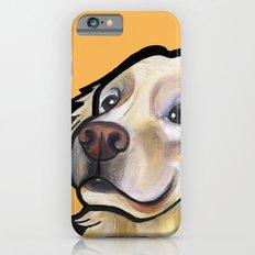 George the golden retriever (orange) Slim Case iPhone 6s