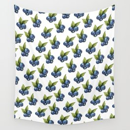 Blueberries Wall Tapestry