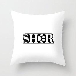 sher Throw Pillow