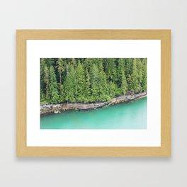 Ketchikan Shoreline Framed Art Print