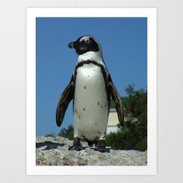 A Little Bit More Penguin Art Print