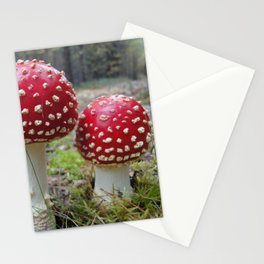 The Two in Red. Stationery Cards
