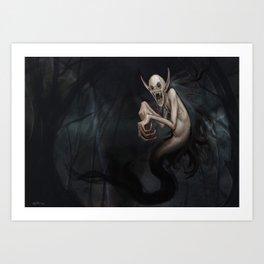 Wild Vampire Art Print