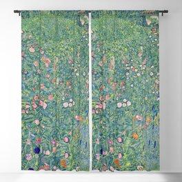 Gustav Klimt Italian GardenLand 1913 Blackout Curtain