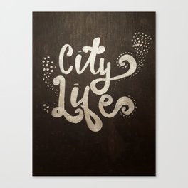 City Light Canvas Print
