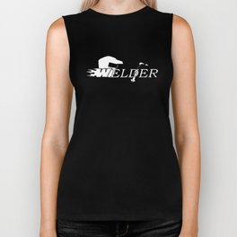 Welder Long Sleeve Welding Occupation Welder T-Shirts Biker Tank