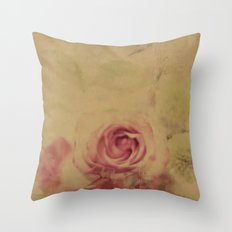 Victorian Flowers Throw Pillow