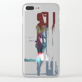 Storm Driving Clear iPhone Case