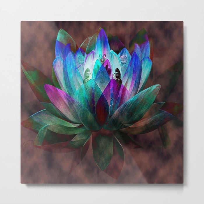 Lotus Land... Metal Print