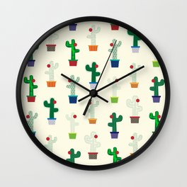 The Cactus! Wall Clock