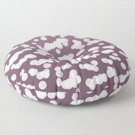 Blurry Lights: Purple Amethyst Floor Pillow