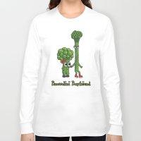 boyfriend Long Sleeve T-shirts featuring Broccolini Boyfriend by khalan