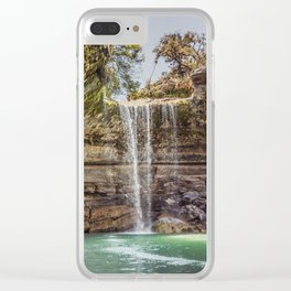 Hamilton Pool Clear iPhone Case