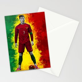 Cristiano Ronaldo - Portugal Stationery Cards